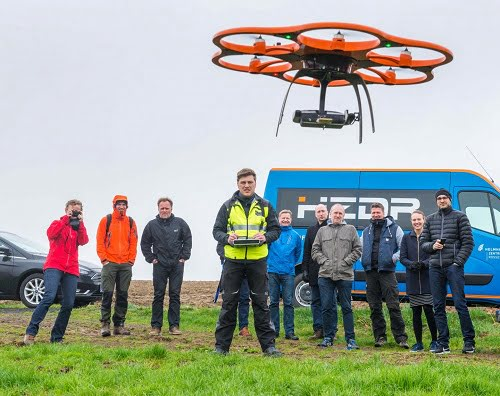 Taking drone-borne technologies for the exploration of mineral deposits to the next level.