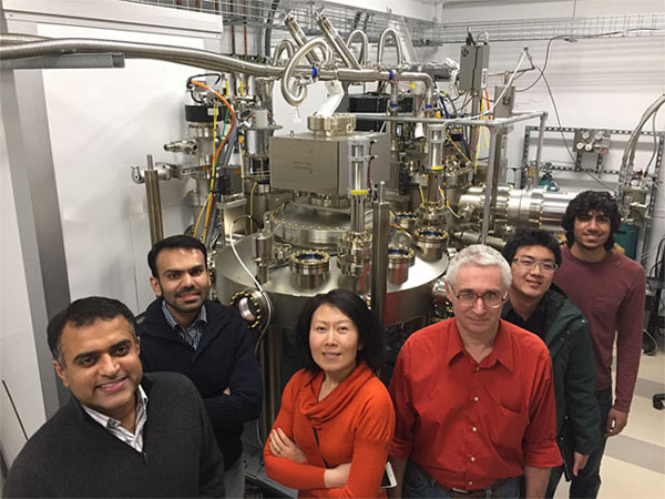 Members of the Jena-Xing Research Group at Cornell University (deep-UV LED).