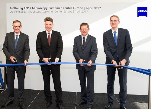 Zeiss opens new microscopy customer service center.
