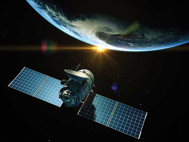Photonics is critical to reducing size and data handling of future satellites.