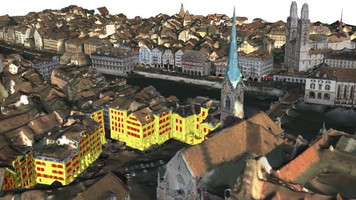 VarCity model, ETH Zurich Computer Vision Lab.