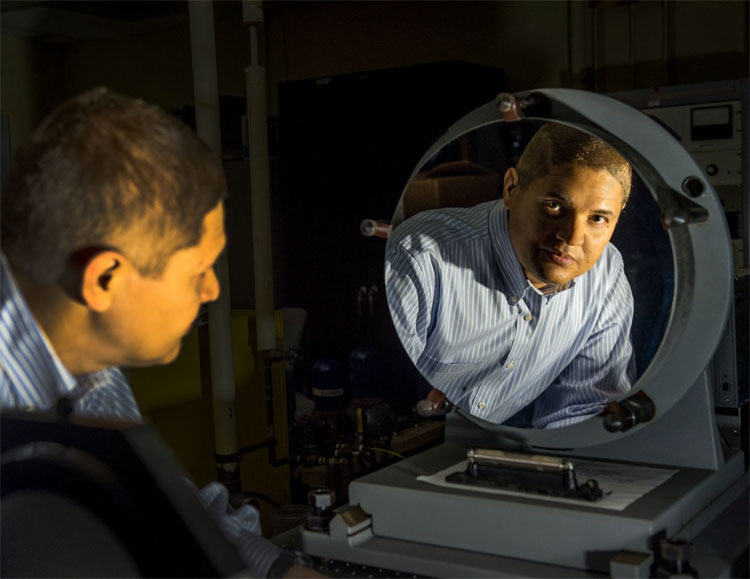 NASA team developing optical coatings for aluminum mirrors.
