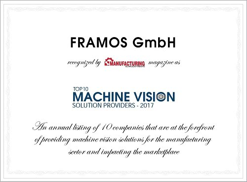 FRAMOS award