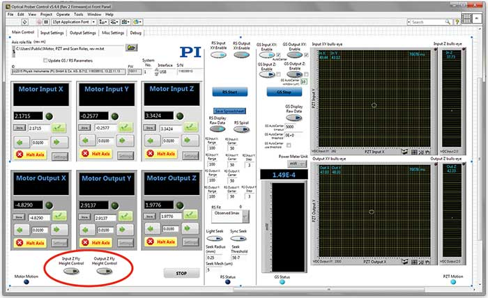 This graphic user interface example provides intuitive access to key FMPA functionality.