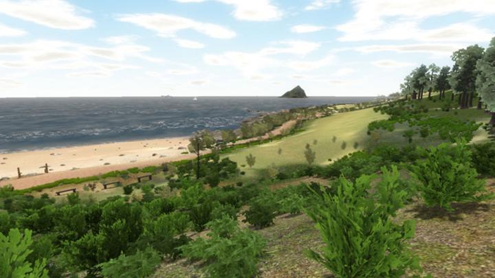 Virtual Wembury beach, University of Plymouth.
