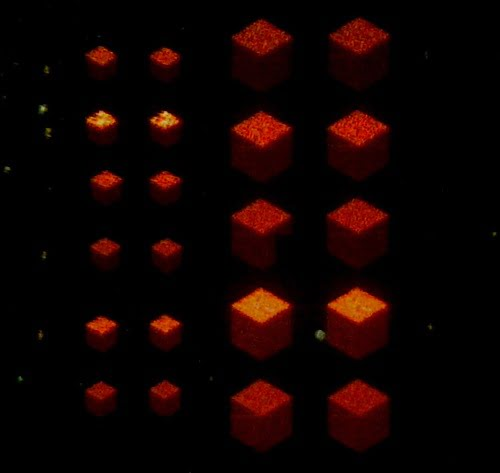 Metamaterial created by scientists and researchers at King's College of London and the University of Bonn in Germany.