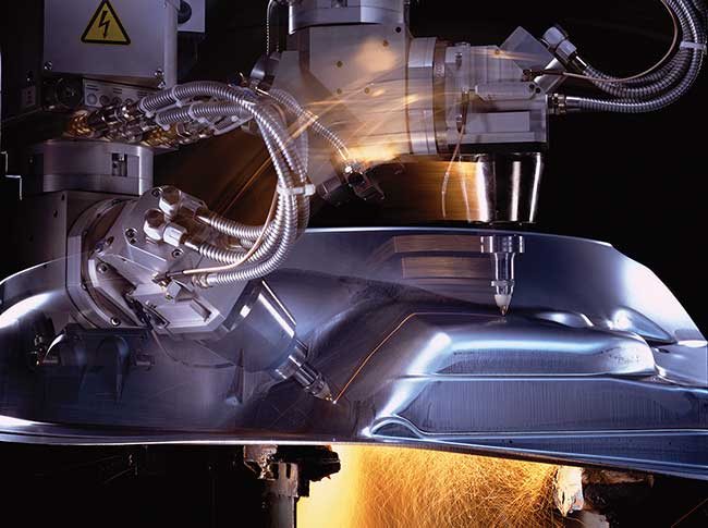 With increasing power, solid-state lasers enable faster materials processing.