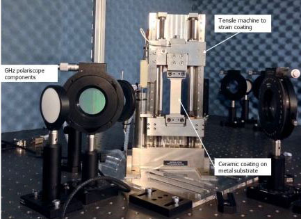 Optical technique to pinpoint weak spots and predict lifetime of thermal coatings, Heriot-Watt University.