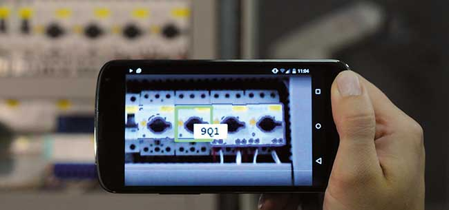 Embedded vision software is directly integrated in mobile devices.