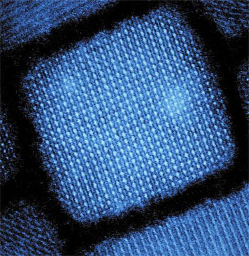 Caesium lead halide quantum dot, Eth Zurich.