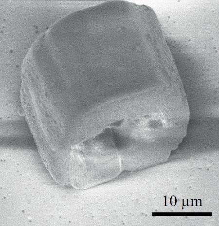 Ultrathin optical fibers for 3D printing microstructures, EPFL.