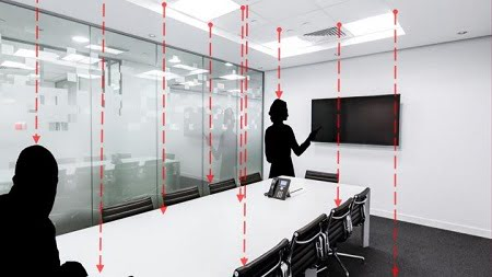 The Center for Lighting Enabled Systems & Applications (LESA) at Rensselaer Polytechnic Institute, along with the University of New Mexico (UNM) and LESA industry partner ABB, are working to create a low-cost, privacy-preserving sensor technology for counting, locating, and tracking occupants in any commercial space that will be developed and tested. Image design courtesy of Vanessa Tan/ University of New Mexico.