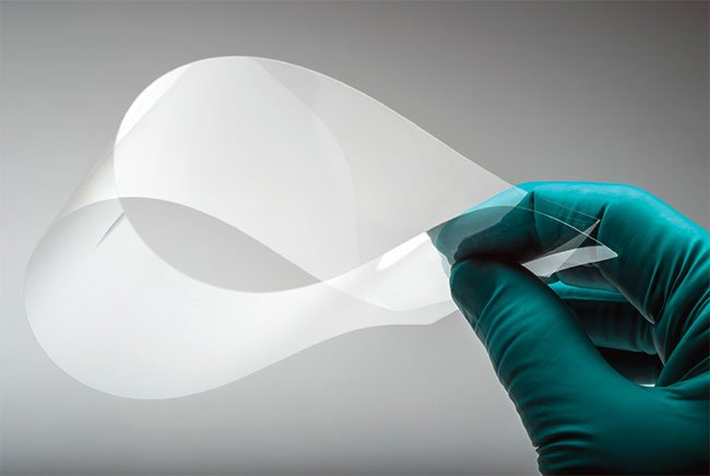 Flexible glass provides a thin, lightweight, and bendable substrate that enables new application form factors and large-scale electronic device integration.