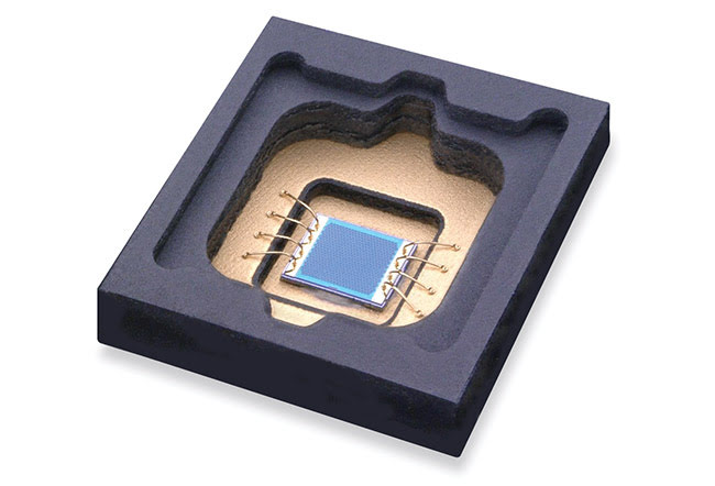 Figure 2. High-power sensor VCSEL in package.