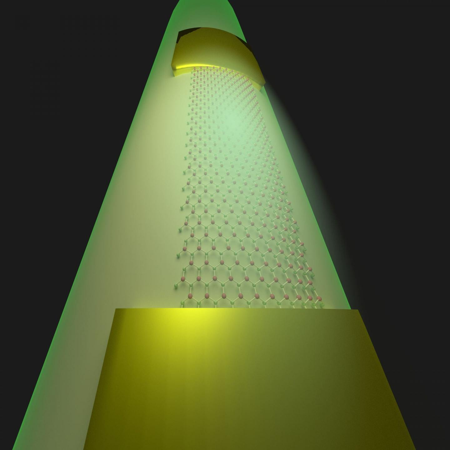 Rice University engineers have developed a method to transfer complete, flexible, two-dimensional circuits from their fabrication platforms to curved and other smooth surfaces. Zehua Jin/Rice University.