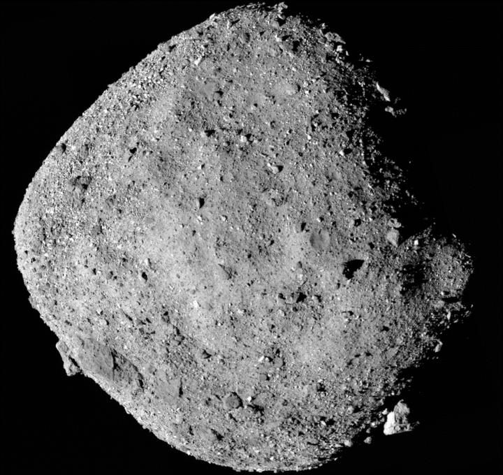 OSIRIS REx makes first observations of asteroid Bennu, NASA Goddard, University of Arizona.