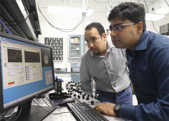 IR Camouflage System, UCF, Professor Debashis Chanda.