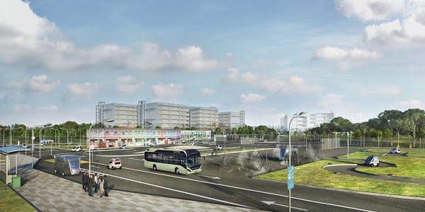 NTU, Volvo Buses Testing Self-Driving Electric Buses in Singapore