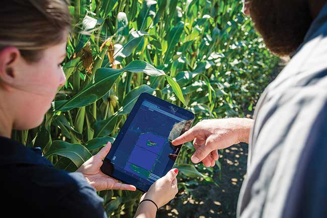 Using airborne instruments to collect remote sensing data and the proper algorithms provides farmers with plant-level water and nutrient content information, increasing yields while saving water, time and money.