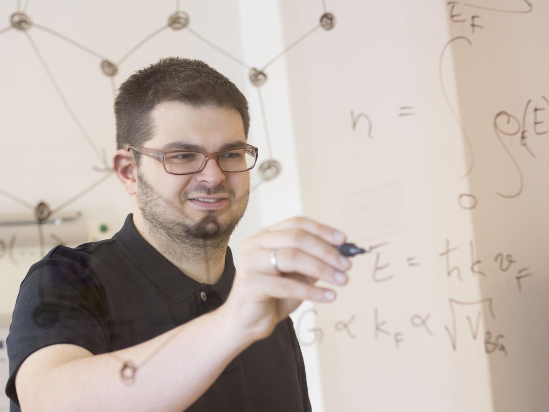 Professor Florian Libisch, TU Wien.