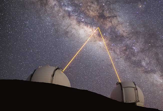 Laser guide star adaptive optics (AO) has been a major boon to the study of the black hole at the center of the Milky Way. Laser guide star AO is used by both Keck Telescopes