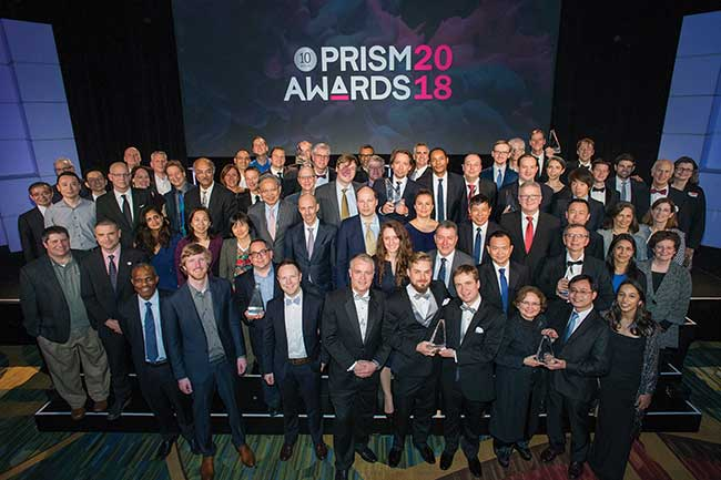 The 2018 Prism Award winners.