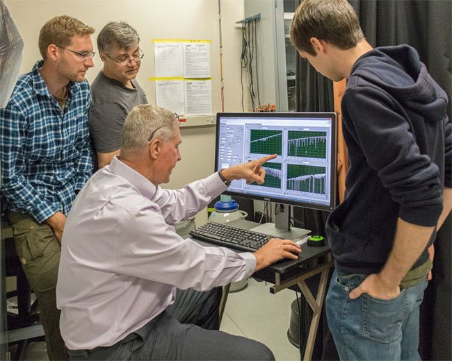 UCF optics and photonics Professor Konstantin Vodopyanov and his team have found a way to use IR lasers to detect even trace amounts of chemicals in the air.