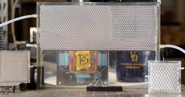 Optofluidic smart glass system, University of Delaware.