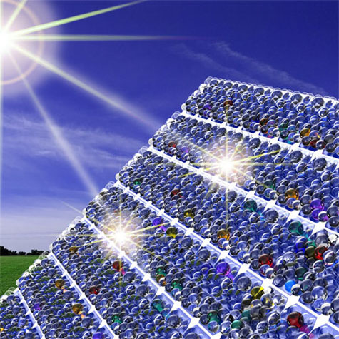 Nanoresonator coating for solar cells, NIST and University of Maryland.