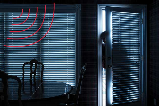 Thermal IR motion detection is a mainstay of sensor technology in intrusion alarms and home security systems.