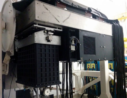 DARKNESS camera for high-contrast imaging of exoplanets. Courtesy of UCSB.