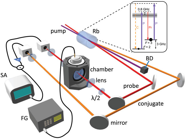Quantum-enhanced plasmonic sensing, University of Oklahoma and ORNL.