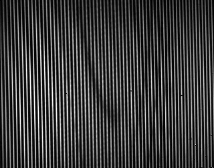 An image output by the experiment, showing the characteristic optical fingerprint of carbon dioxide.