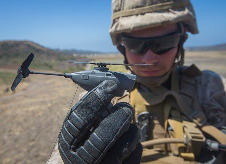 FLIR Black Hornet Personal Reconnaissance Systems (PRS) will support squad-level surveillance and reconnaissance capabilities. Courtesy of Pfc. Rhita Daniel.