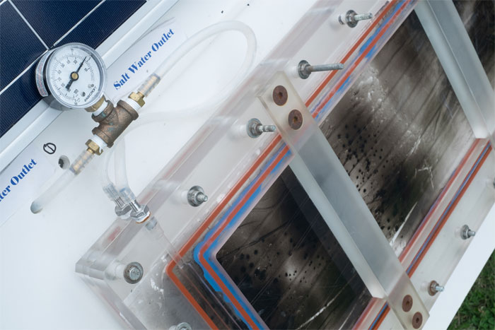 Nanophotonics-Enabled Solar Membrane Distillation from Rice University.