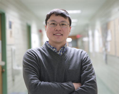 Hongrui Jiang, professor of electrical and computer engineering at the University of Wisconsin-Madison.