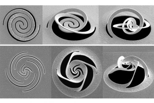 Kirigami-Inspired Technique Manipulates Light at Nanoscale