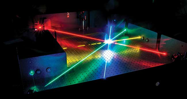 Optical parametric oscillator (OPO) technology provides laser light that is widely tunable across the visible spectrum.