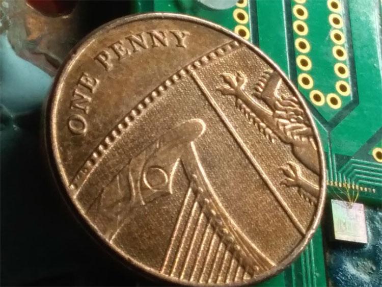 Quantum Random Number Generator built using silicon photonics, University of Bristol.