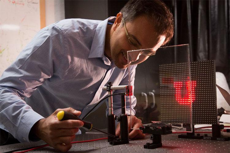 University of Utah electrical and computer engineering associate professor Rajesh Menon.