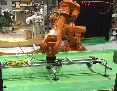 Robot assembly. Courtesy of RPI.