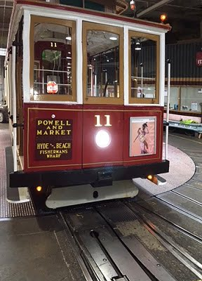 LEDtronics LED headlights installed on San Francisco's historic cable cars. Courtesy of LEDtronics.