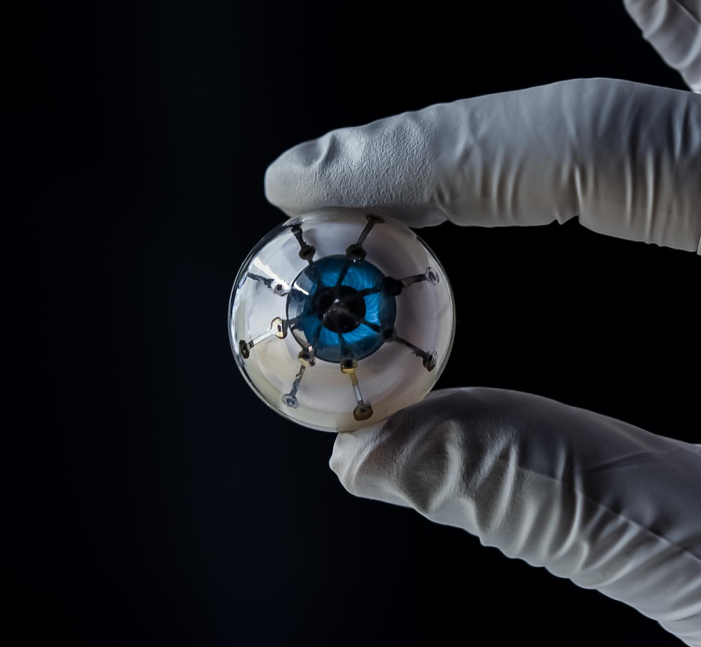 3d-printed 'bionic eye' prototype from the University of Minnesota.