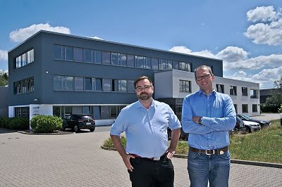 Christoph Franz (left) and Hans Jörg Ohler will take over the management of 4D Ingenieursgesellschaft für Technische Dienstleistungen mbH in Isernhagen, Germany. Courtesy of 4D.