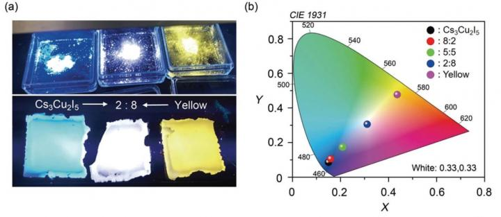 Lead-Free Highly Efficient Blue-Emitting Cs3Cu2I5 with 0D Electronic Structure, Tokyo Institute of Technology.