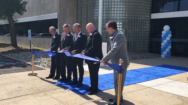 Official ribbon-cutting ceremony