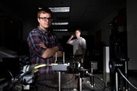 New technology uses lasers to transmit audible messages, MIT Lincoln Lab.
