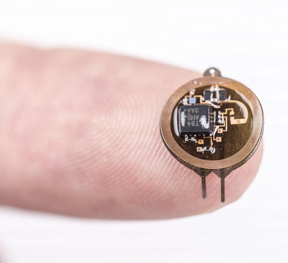 Battery free, implantable, miniature device for optogenetics, University of Arizona.