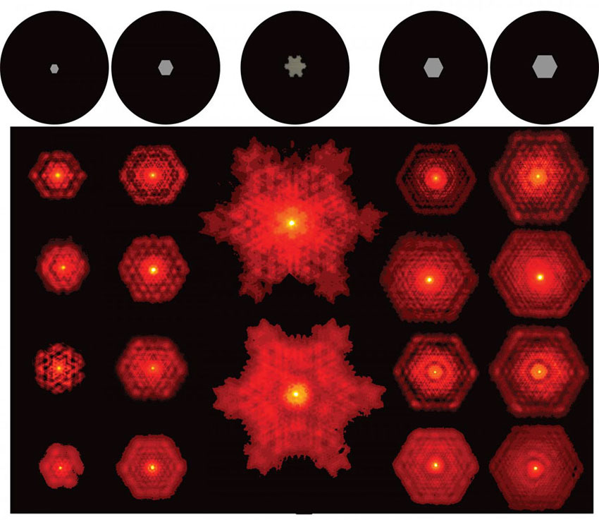 Researchers demonstrate fractal light from lasers, Wits University.