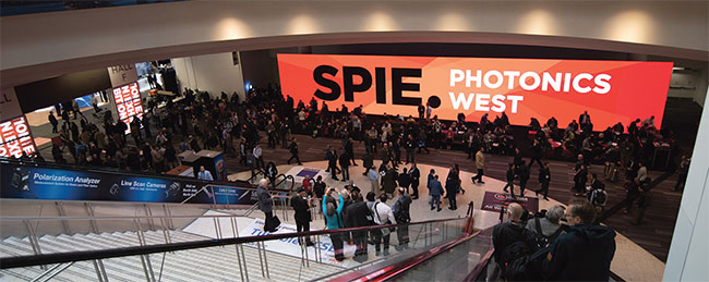 Photonics West 2020 will take place Feb. 1-6 in San Francisco.